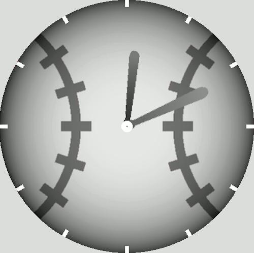 Imagen en miniatura del Esfera reloj de béisbol