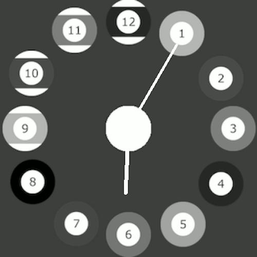 Imagen en miniatura del Esfera Reloj Billar