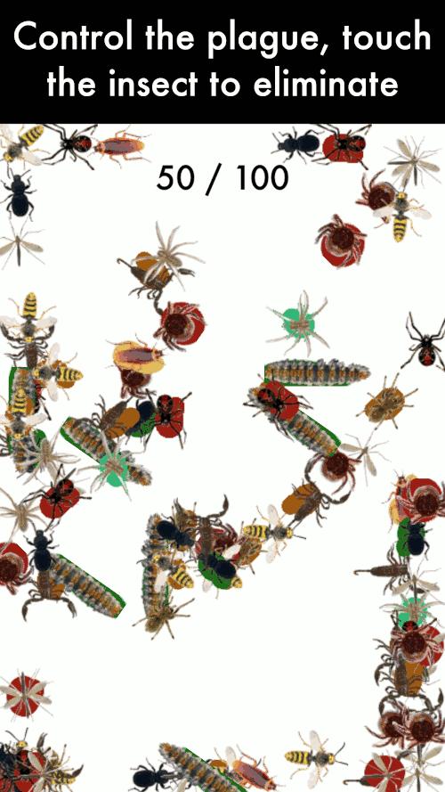 Imagen en miniatura del juego Plaga Insectos — Juego reloj