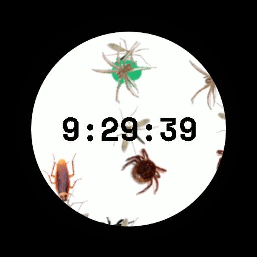 Imagen en miniatura del juego Bichos Watch Face (Esfera de reloj)