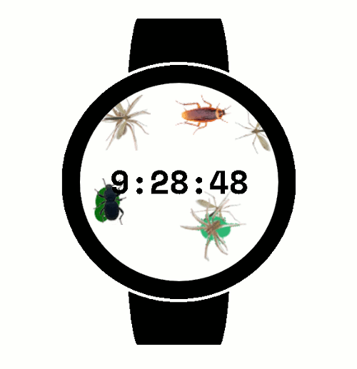 Thumbnail Bugs Watch Face