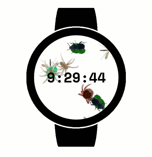 ThumbnailBugs Watch Face