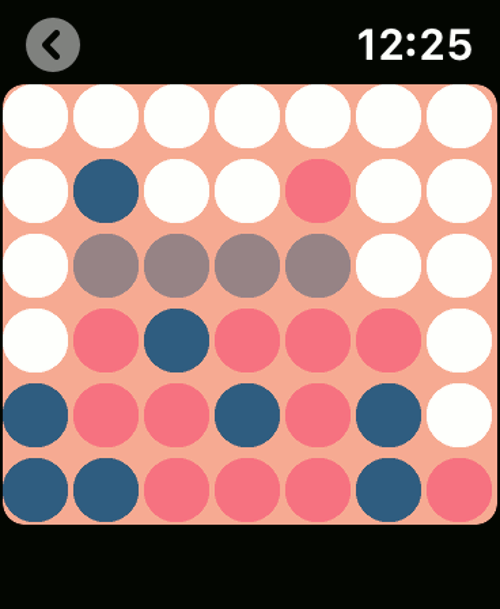 Imagen en miniatura del juego 4 en reloj — Juego para Reloj