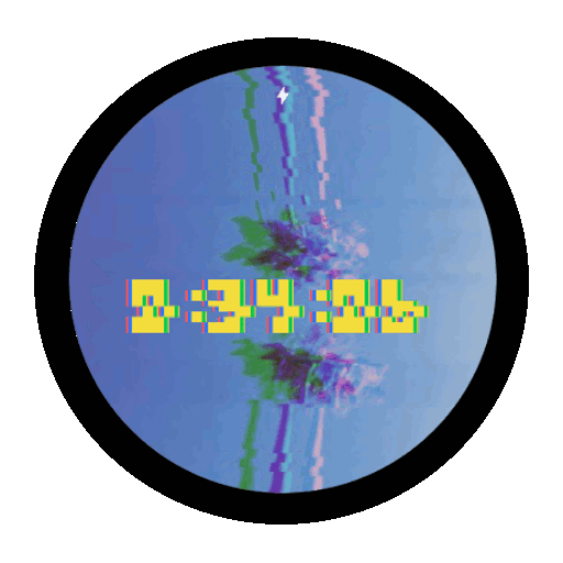 Imagen en miniatura del Glitch Watch Face — 20 fondos de Glitch art Watch Face