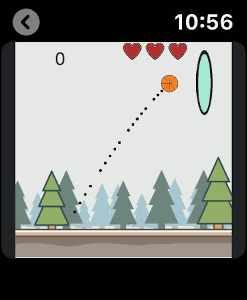 Imagen en miniatura del juego Imposible Basquet