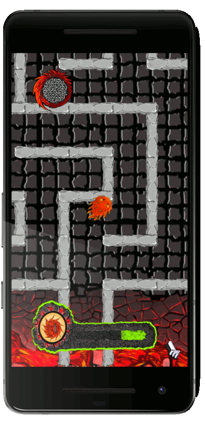 Thumbnail Lava in Maze  Game