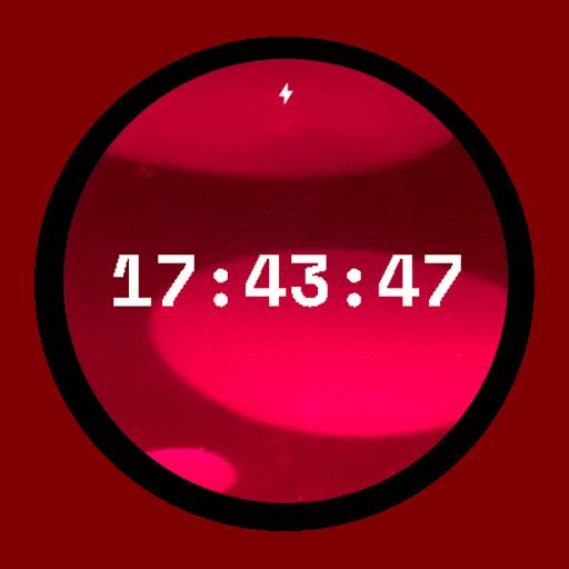 Imagen en miniatura del juego Lámpara de lava Watch Face (Lava en movimiento)