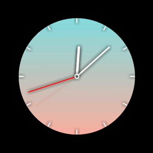 Imagen en miniatura del Watch Face Gradientes en vivo