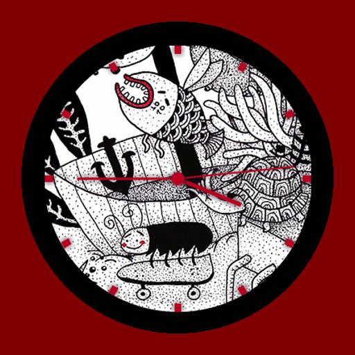 Imagen en miniatura del Melancholy Watch Face - 10 Doodle Art design