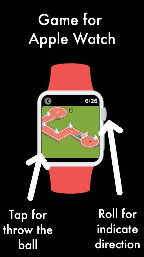 Imagen en miniatura del juego Mini Golf — Juego reloj. Juega al mini golf en el Apple Watch