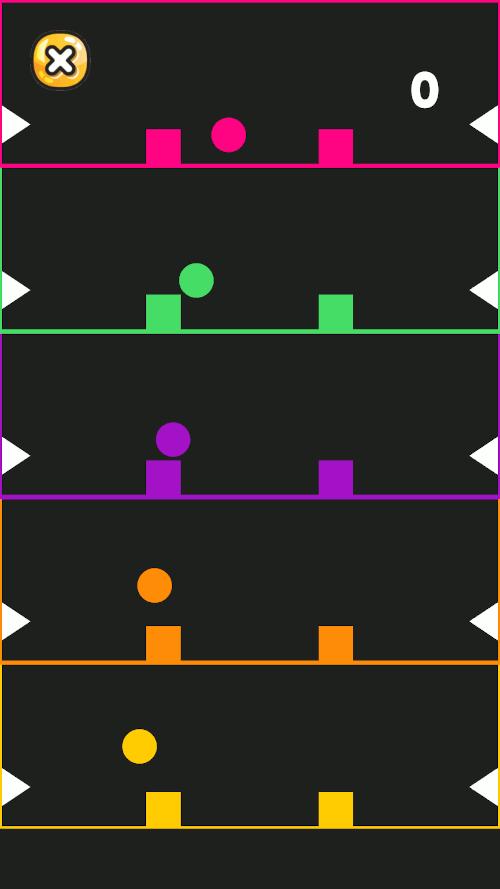 Imagen en miniatura del juego Multitask Balls. Juego multitarea para Apple Watch