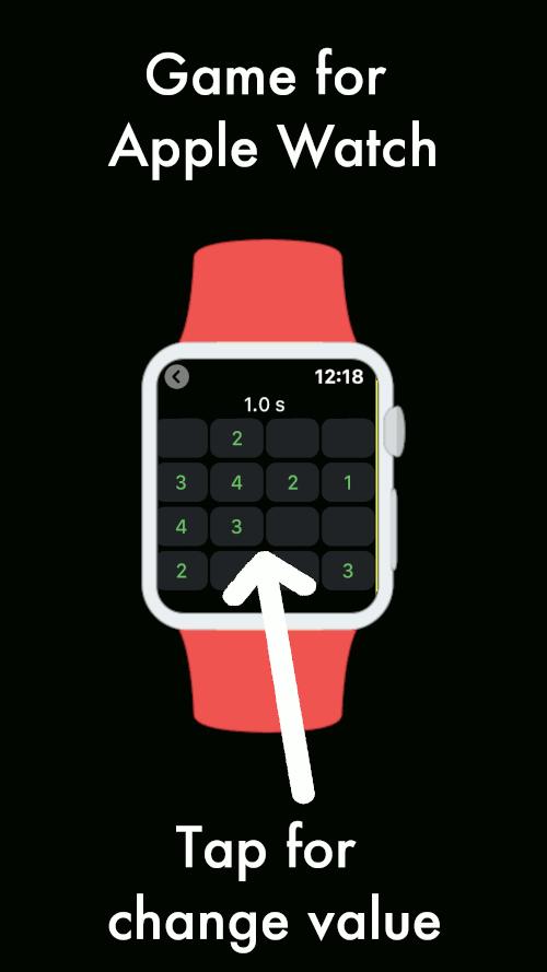 Imagen en miniatura del juego Sudoku Wear — Sudoku 4x4 para reloj (Wear OS)