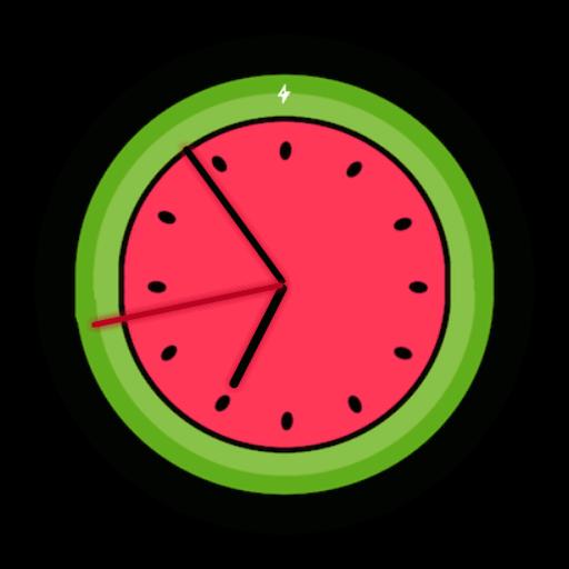 Imagen en miniatura del Esfera reloj de Sandia - Diseño fresco y hermoso para reloj Wear OS 🍉