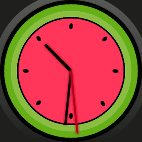 Thumbnail Watermelon Watch Face - Design for watch with Wear OS